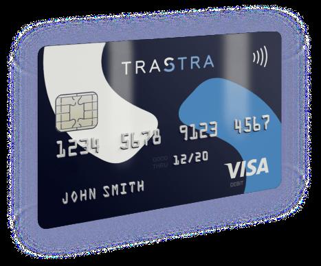 TRASTRA: Crypto Wallet & VISA Card