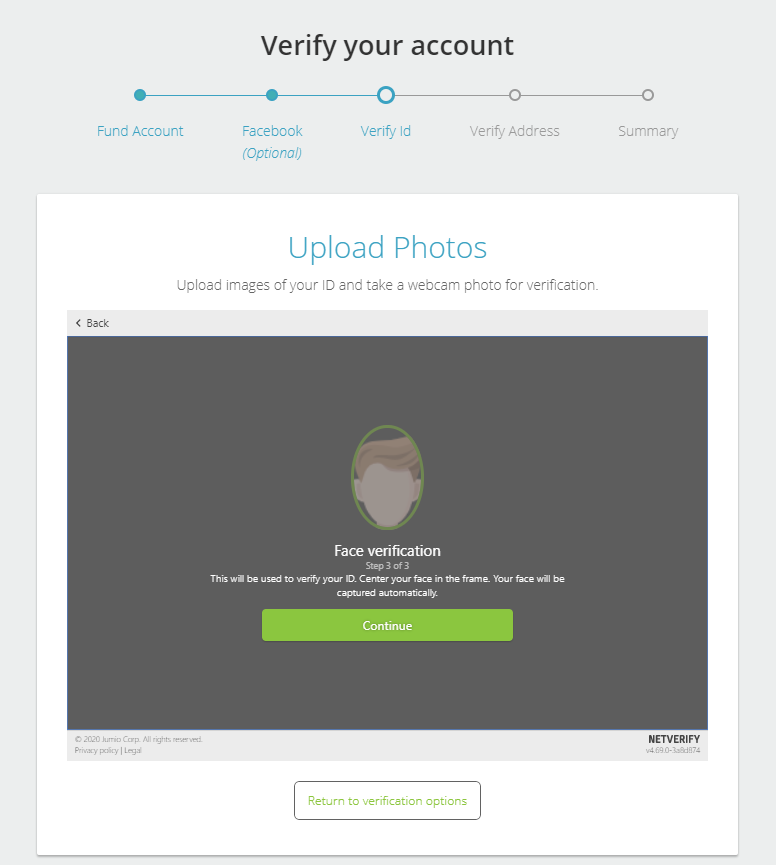 Neteller Account Verification