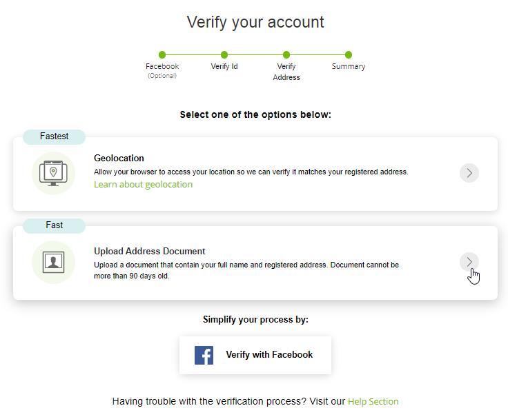 Neteller Account Verification