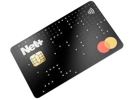 Net+ Prepaid mastercard 2020