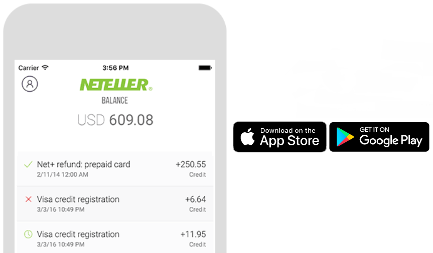 Neteller application