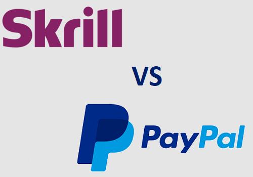 Skrill vs Paypal