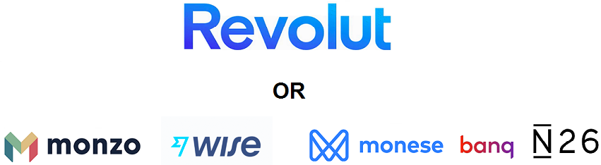 Alternatives to Revolut