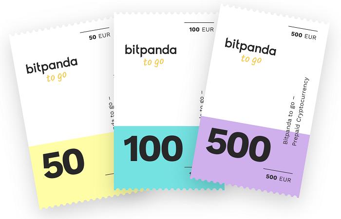 Bitpanda to go logo service