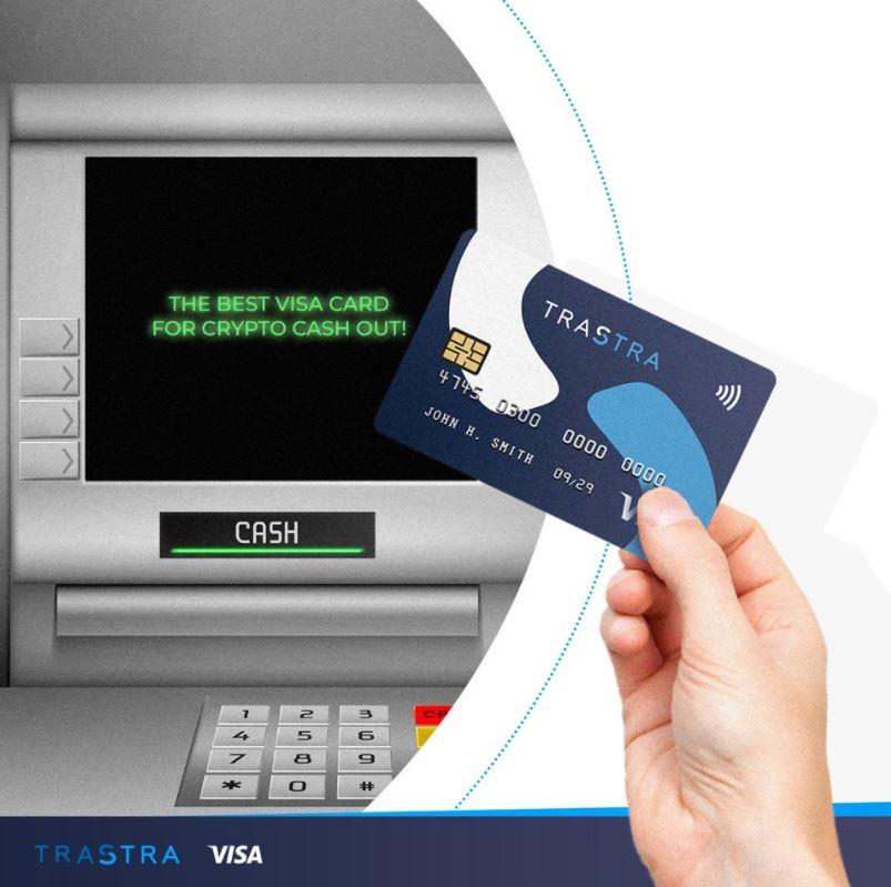 trastra visa card atm withdrawals