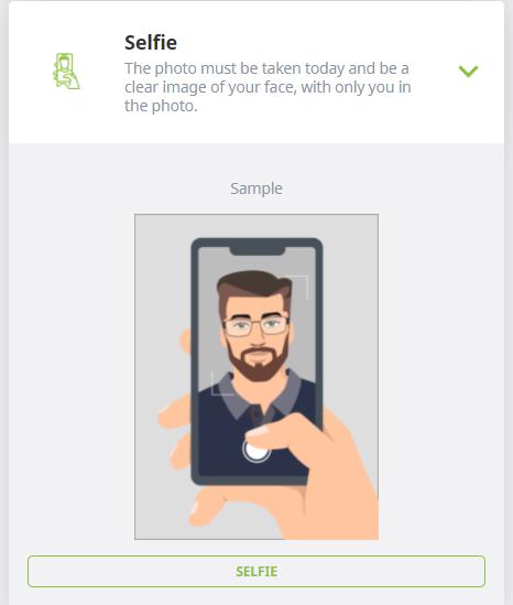 ecopayz verification selfie