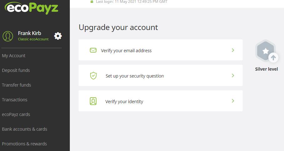 ecopayz verification verify identity