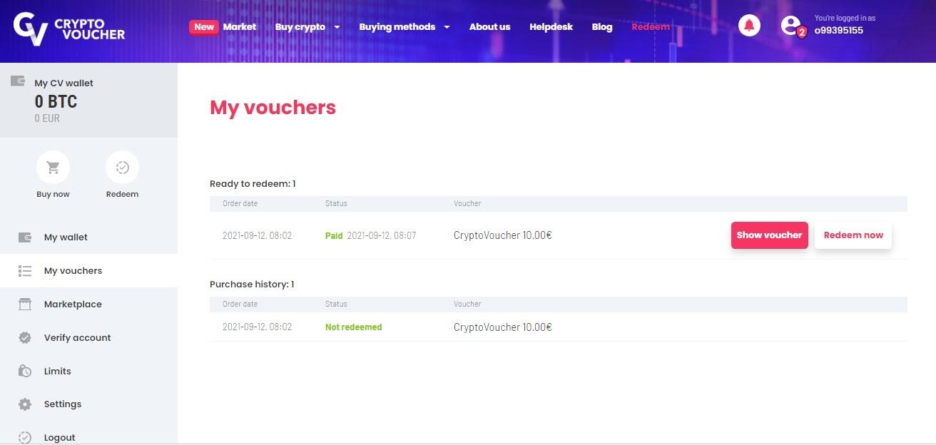 how to redeem crypto voucher 4