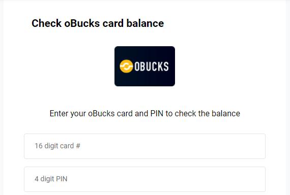 obucks check balance 2